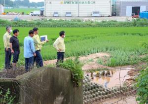 홍수 피해지역 현장방문(2020. 8. 4)