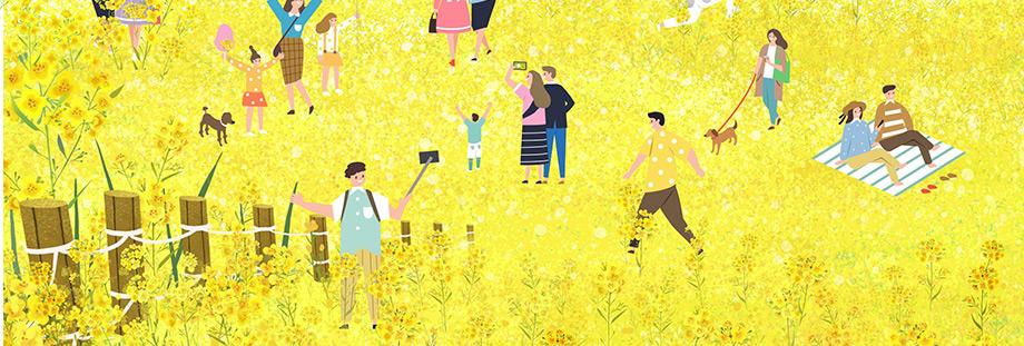 봄을 표현하는 이미지